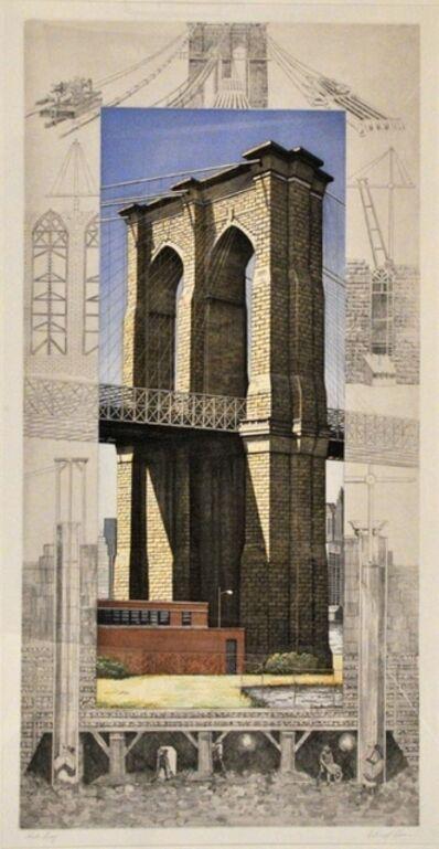 Richard Haas, 'Brooklyn Bridge', 1994