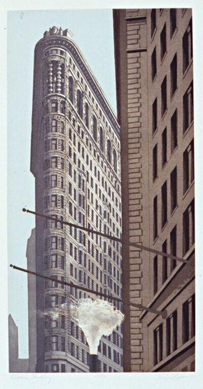 Richard Haas, 'Flatiron Building', 1992