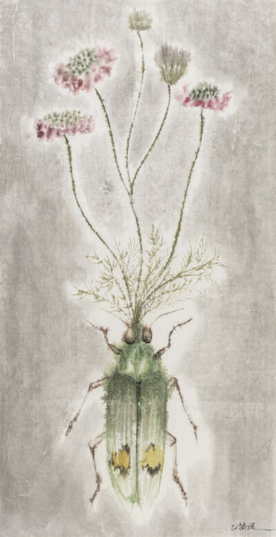 Shi Rongqiang, 'Winter-Insect, Summer-Herb No.3', 2015