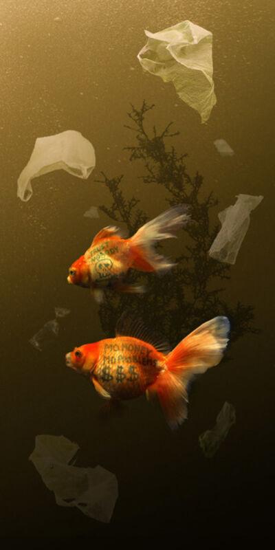 Agan Harahap, 'Two Goldfish', 2017