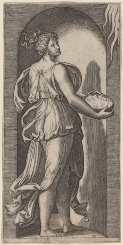 Marcantonio Raimondi after Raphael, 'Hope'