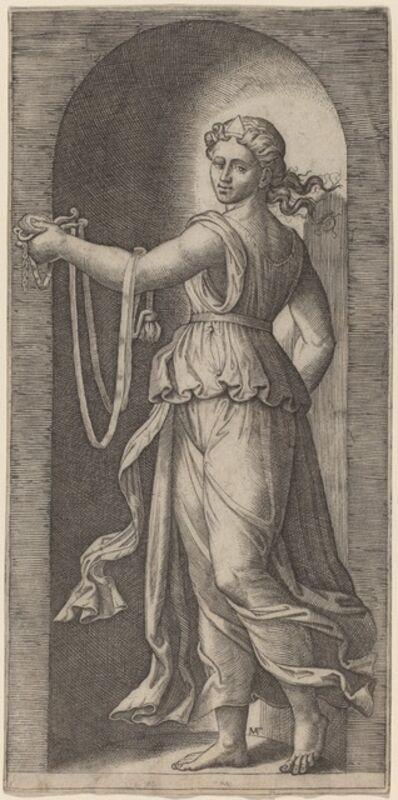Marcantonio Raimondi after Raphael, 'Temperance'