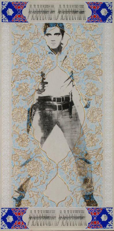 Mahmood Sabzi, 'Elvis Blue', 2016