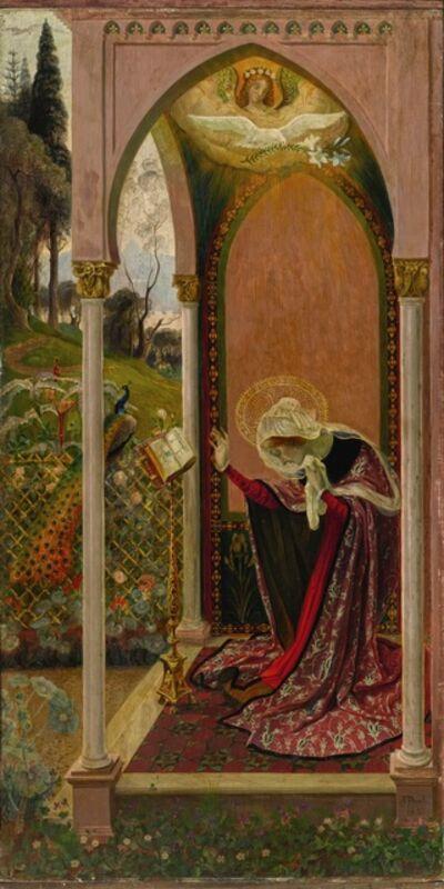 Armand Point, 'The Annunciation or Ancilla Domini (L'Annonciation)', 1895