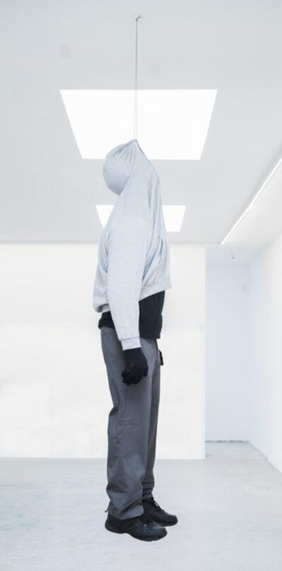 Mark Jenkins, 'Death by hoodie', 2017