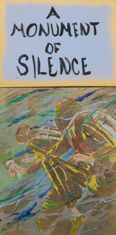 Archie Rand and Bob Holman, 'A Monument of Silence', 2017