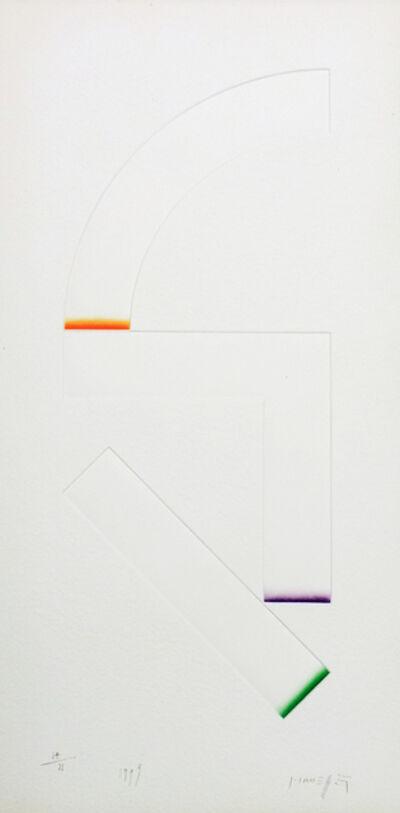Gottfried Honegger, '3 Empreintes B ', 1999