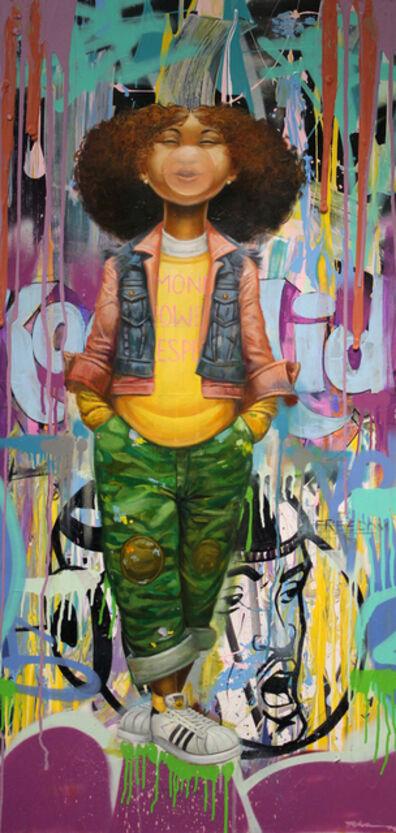 Frank Morrison, 'Money, Power and Respect', 2017