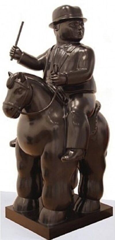Fernando Botero, 'Man on a Horse', 2010
