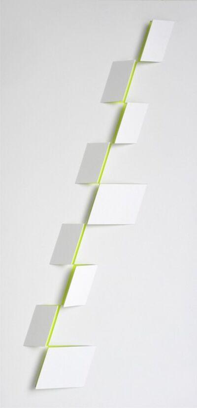 Juan Mejía, 'Signs No. 2 White-lemon', 2016