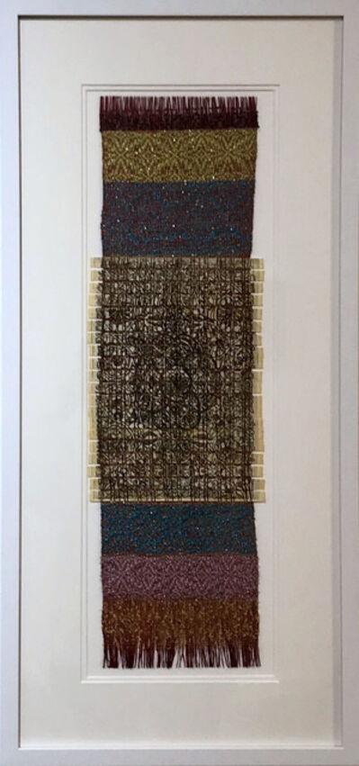 Renee Magnanti, 'Venetian Lace Pattern with Overshot Weaving', 2017