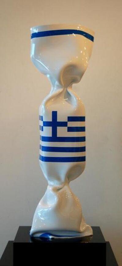 Laurence Jenkell, 'Wrapping bonbon drapeau Greece'