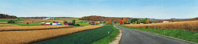Steven Kozar, 'Autumn Morning Drive '
