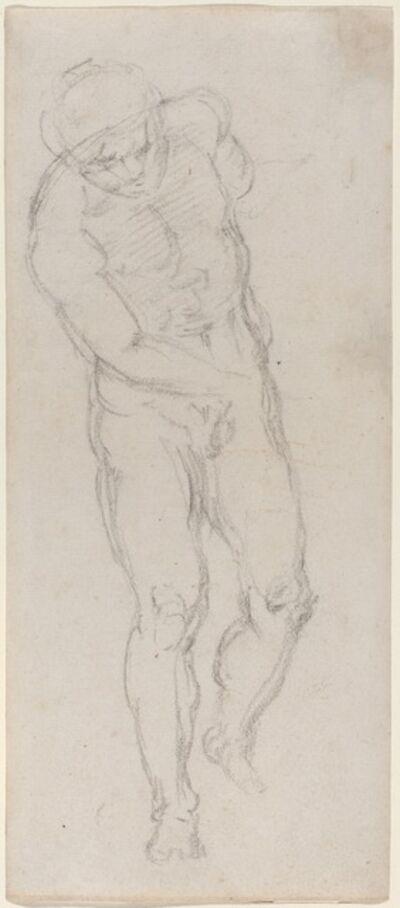 Michelangelo Buonarroti, 'Male Nude [recto]', ca. 1560