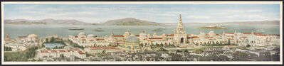 Pacific Novelty Company, 'Panoramic View of the Panama-Pacific International Exposition—San Francisco, California', 1915