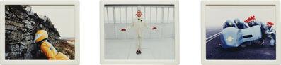 Matthew Barney, 'Cremaster 4: Triple Option (Triptych)', 1994