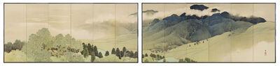 Nishii Keigaku, 'Mountain Landscape', ca. 1912