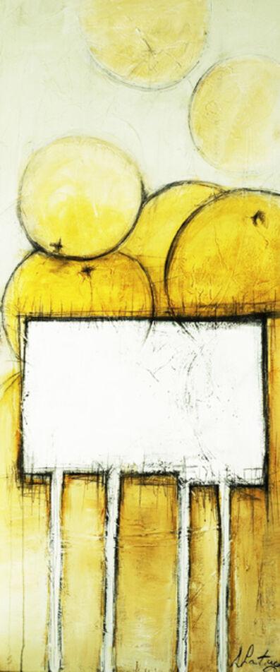 Danielle Lanteigne, 'Oranges sur table blanche', 2016