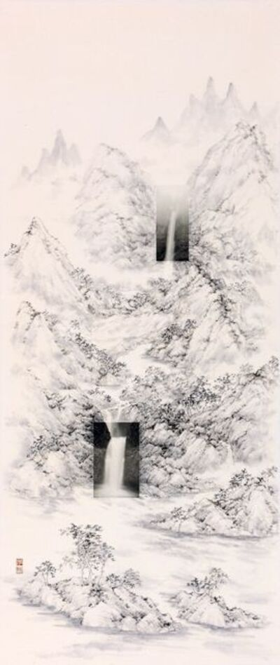 Michael Cherney 秋麥, 'Landscape with Waterfalls', 2016
