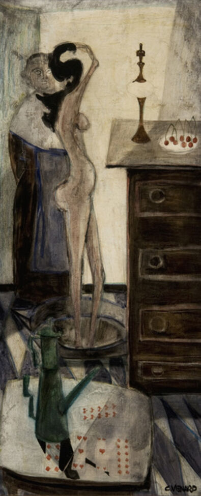 Claude Venard, 'Nu au Tub', ca. 1950