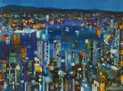 #21 Victoria Harbour At Night