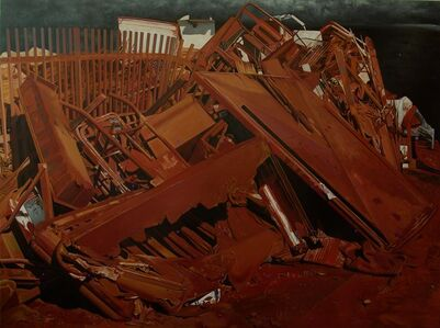 Landscape in red dirt - Demolition X