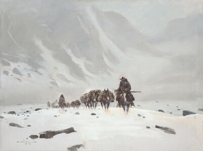 Mule Train Mountain Pass