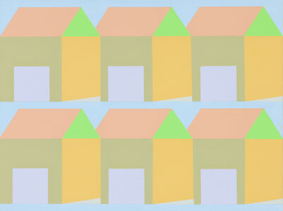Pale Blue Houses 6