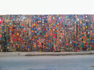 Installation for Chale Wote Festival, Accra