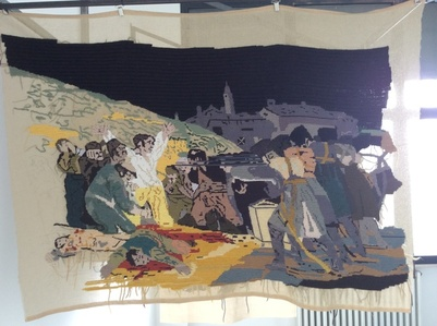 "Banner 6, from ""Tres de Mayo"", Francisco de Goya"