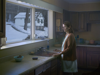 Woman at Sink