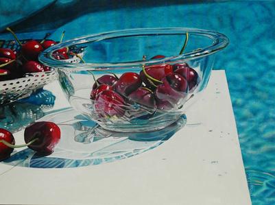 Cherries By The Pool