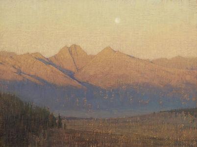 Sunrise on the Crestones