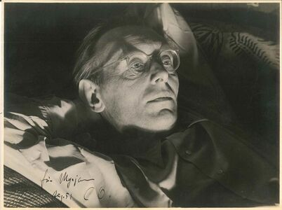 Carl Orff Vintage Photo