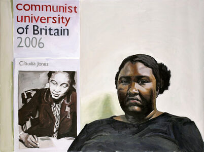 Portrait of Sheltreese McCoy (Communist Party USA)