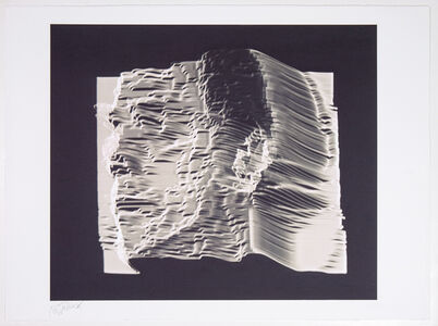 Pariah-Polaroids from Scan Processor III (From Time/Energy Structure of the Electronic Image, 1974-75)