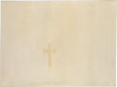 Untitled (Cross from Traces of Paintings)