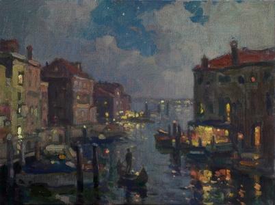 Evening Ride, Venice