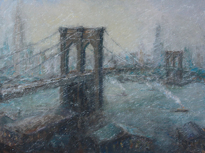 The Great Bridge in Winter