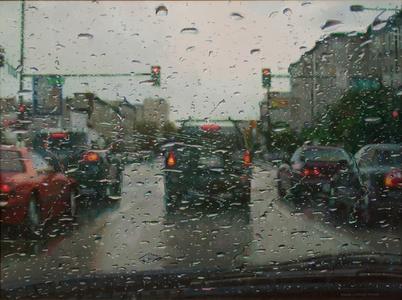 Rain on Windshield I