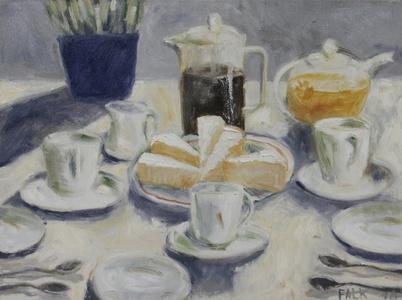 Cake, Coffee, Tea