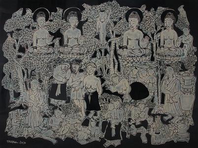 Story of the Cloud Mother goddess at Co Chau Pagoda (Chua Dau)