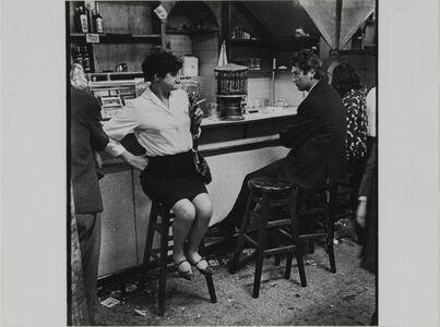 Untitled (from Café Lehmitz series), 1967–70