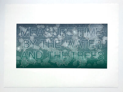 Measure Time by the Water and Trees