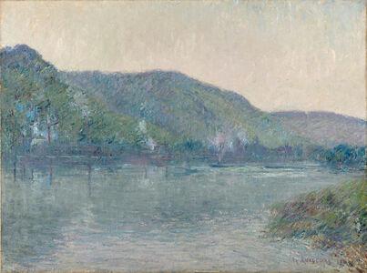 Bateaux sur la Seine à Oissel