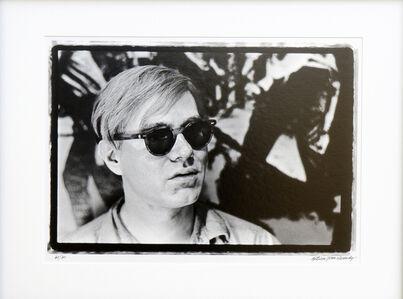 Close up of Andy Warhol