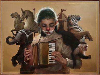 Caroline and the accordion