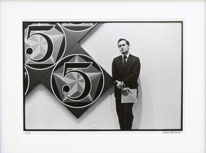 Robert Indiana with X-5