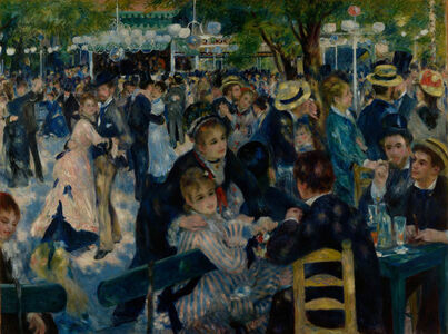Dance at Le Moulin de la Galette (Bal du moulin de la galette)