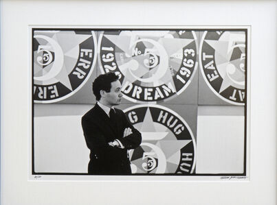 Robert Indiana with The Demuth American Dream #5